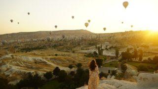 たくさんの夢を乗せた気球たち