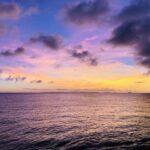 嵐のあとの海の空
